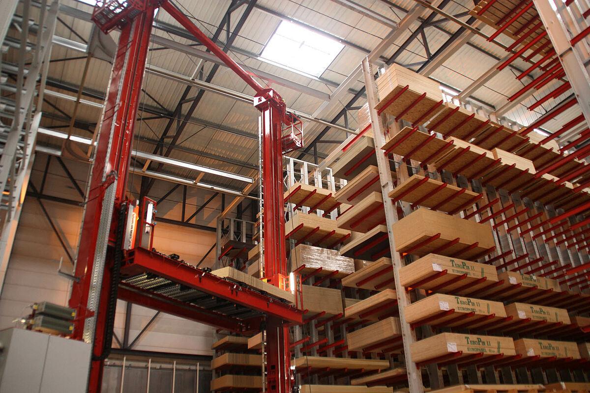 Holzhandel Warenschonende Lagerlösungen Ohra Gmbh